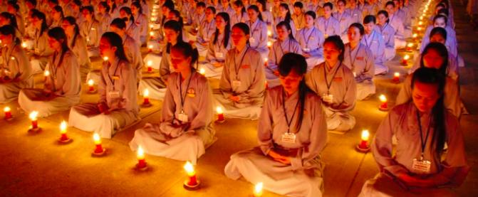 Guida buddista donna? Ma bella