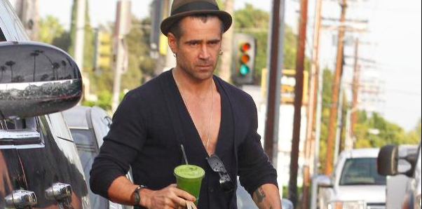 Juicing Mania anche per Colin Farrel