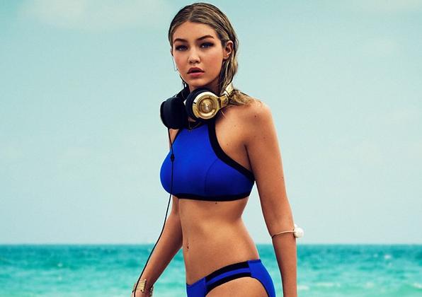 A 20 anni, con la sua bellezza nordica e le curve, Gigi è una delle modelle pià richieste del momento