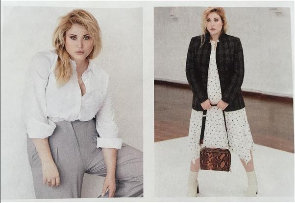 Hayley Hasselhoff negli scatti di una campagna pubblicitaria