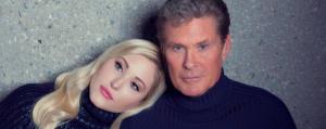Hayley Hasselhoff con papà David