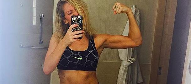 Ellie Goulding fitness dipendente