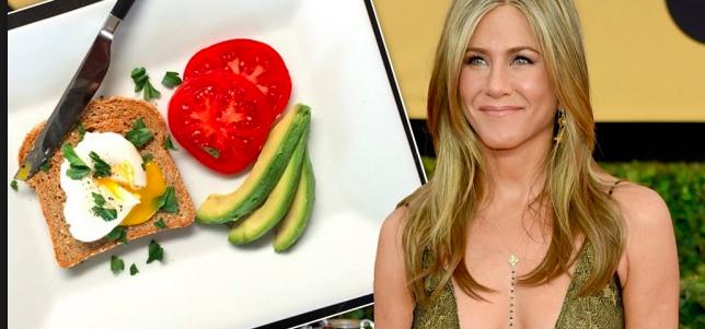 la colazione leggera di Jennifer Aniston