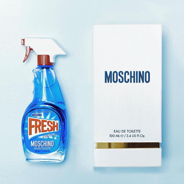 Fresh, la nuova fragranza cult di Moschino by Jeremy Scott