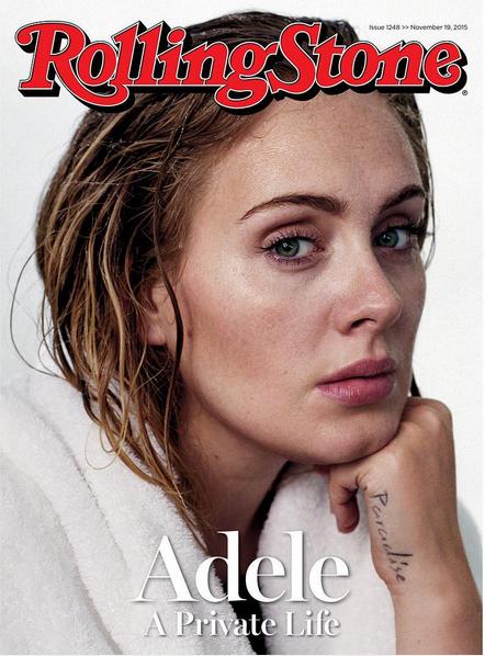 Adele senza trucco sulla cover di Rolling Stones