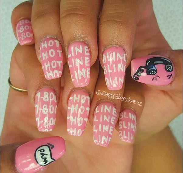 Drake manicure