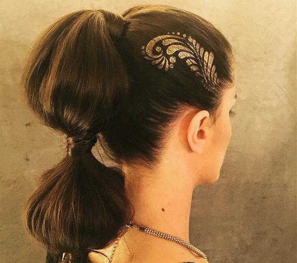 Hair stencil
