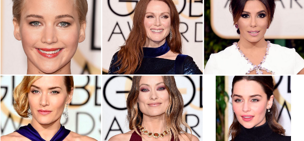 Golden Globe beauty look
