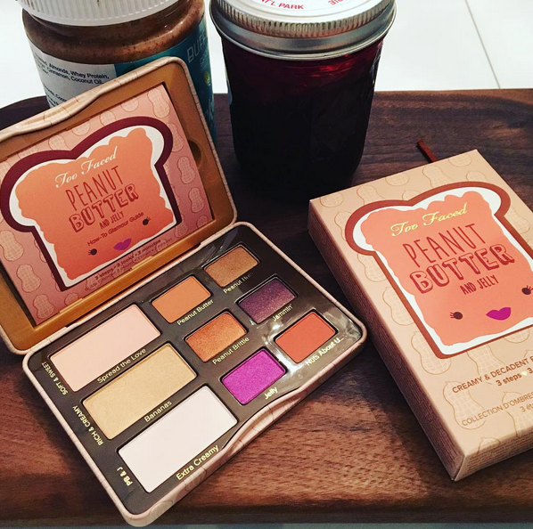 Too Faced Peanut Butter and Jelly Eyeshadow Collection