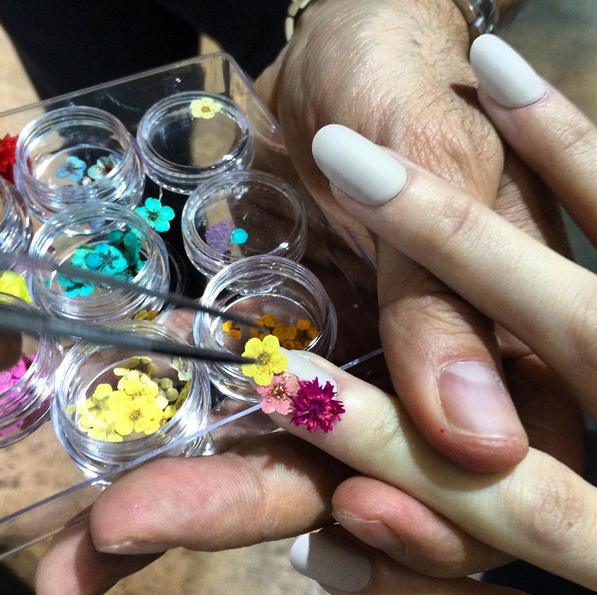 La Flower manicure di Antonio Marras
