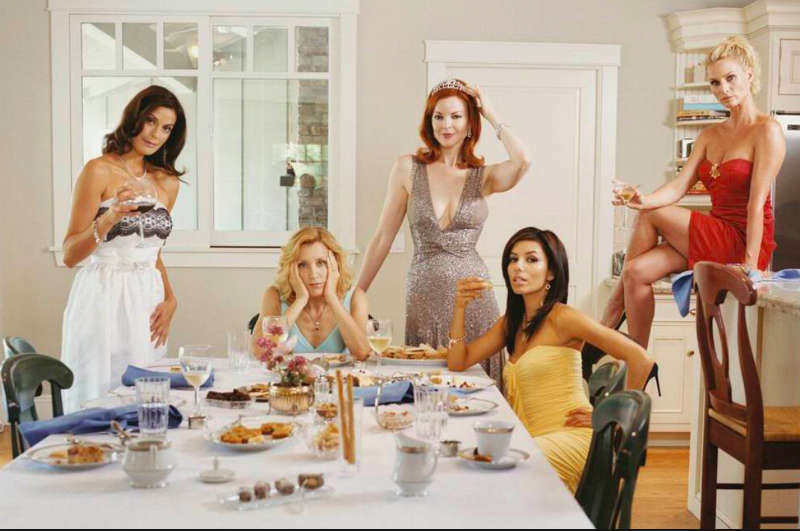 Desperate housewifes: non esattamente l'esempio della casalinga classica, ma...