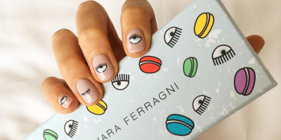 La nail art di Chiara Ferragni - Photo Credit: Instagram @chiaraferragni