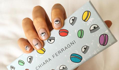 La nail art di Chiara Ferragni - Photo Credit: Instagram @chiaraferragni